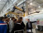 Экскурсия по заводу Шнейдер Электрик Урал для студентов Уральского политехнического колледжа