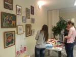 Выставка творческих работ мастеров ШЭУ